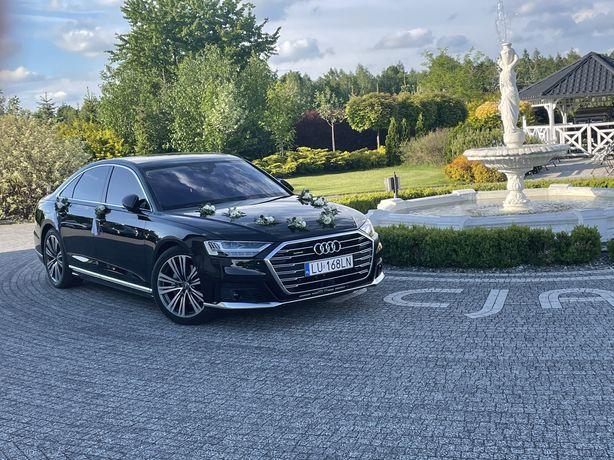 Audi A8 i SQ7 auto do ślubu WOLNE TERMINY
