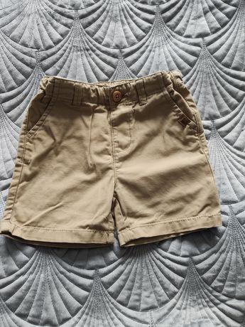 Krótkie spodenki Zara Boy r. 80