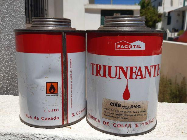 Cola em lata de 1 litro para PVC