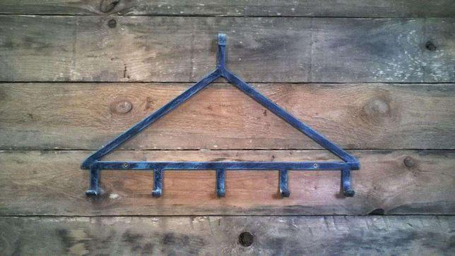Cabides de parede com 5 ganchos novos em ferro forjado