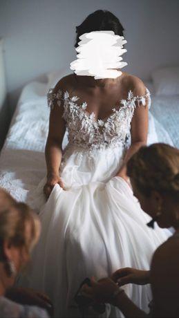 Suknia ślubna Anna Kara model Sunset + gratis welon 2,5 m