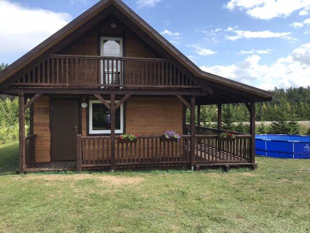 Nowy Drewniany Domek Wydminy gmina Giżycko