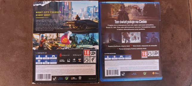 Days gone Cyber punk ps4