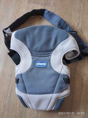 Жіноча сумка кенгуру( рюкзак для переносу дітей)CHICCO від 3кг до 9 кг
