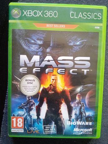 Mass effect gra Xbox 360 wydanie dwupłytowe książeczka