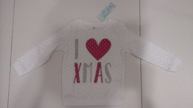 Bluza świąteczna 92 Nowa