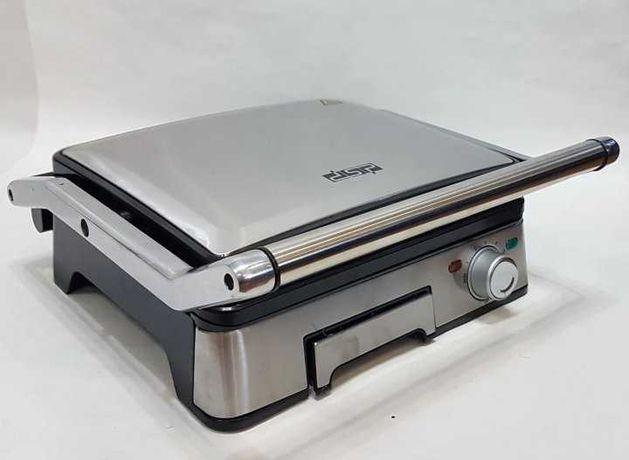 Новый электрический гриль прижимной DSP 1045 съемные пластины 1800 Вт
