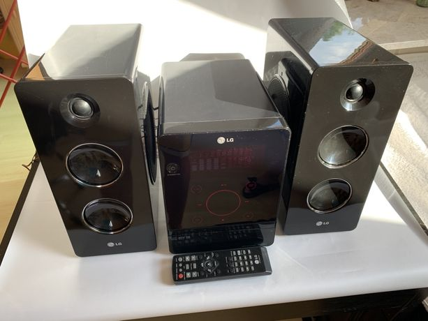Radio wieża hi-fi LG FA162-D0U z MP3, USB, JACK IN. Na prezent