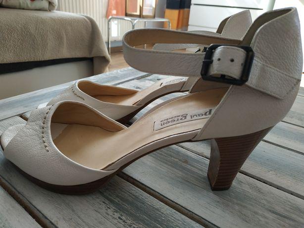 Czółenka buty na obcasie Paul Green markowe