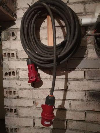 Przedłużacz siłowy,  kabel siłowy 5x4mm2, 22m