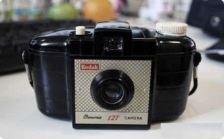 Kodak Brownie 127 camera troco por tel Top 5pol