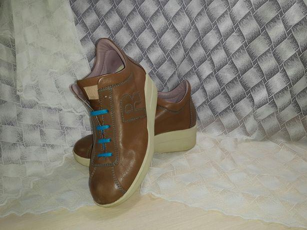Rico line оригинальные кожанные туфли. Ботинки. Ботильоны