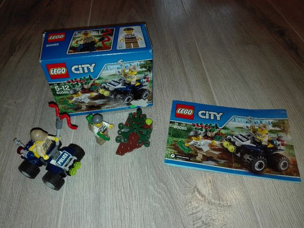 LEGO City 60065 - Patrolowy quad