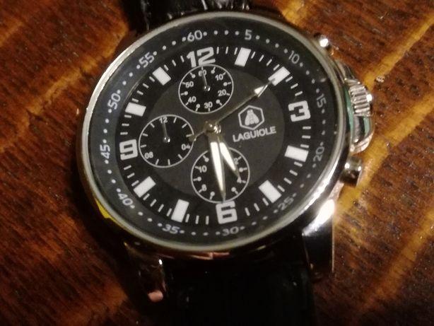 Laguiole męski zegarek - Nowy folia na deklu