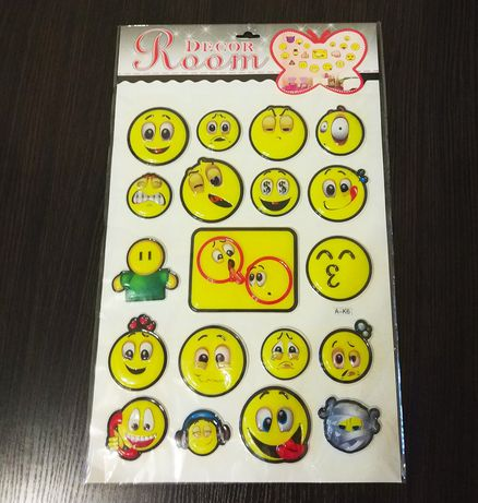 Фактурные детские наклейки