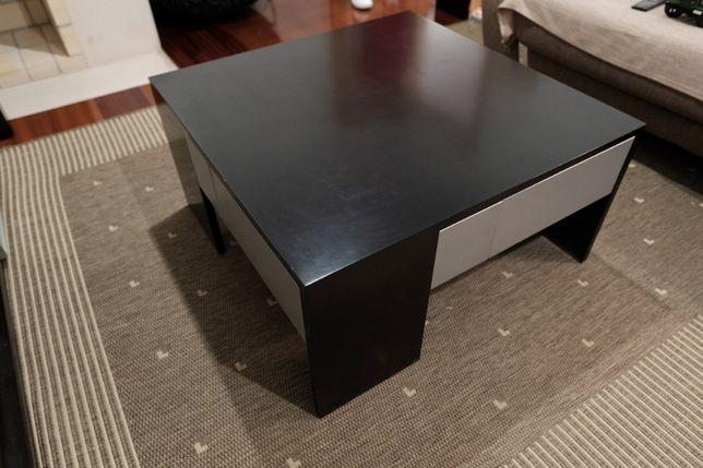 Mesa de centro (Madeira Maciça). Design Moderno.