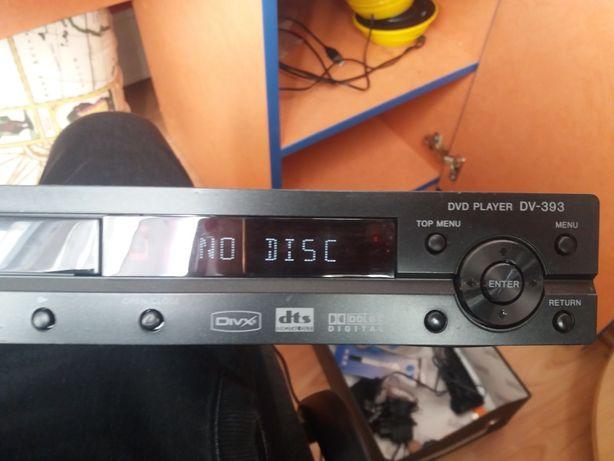 видеоплеер DVD Pioneer DV 393, рабочий.