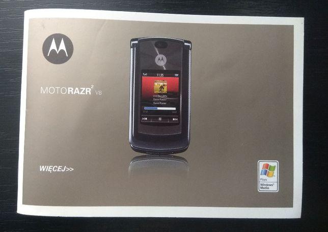 Instrukcja Motorola Razr V8