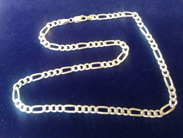Łańcuch - łańcuszek srebro 925 długość 49,5 cm