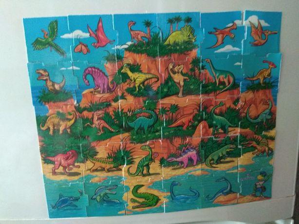Магниты из Растишка серия Динозавры