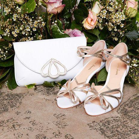 Ślubne Rachel Simpson cecylia ivory white 38 nowe