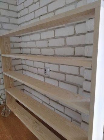 Półka drewniana lite drewno