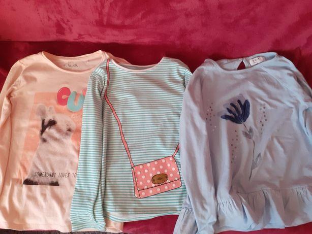 Bluzki dla dziewczynki 128 cm