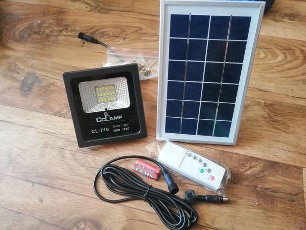 Halogen kinkiet naświetlacz lampa led kamper solar pilot led 10w