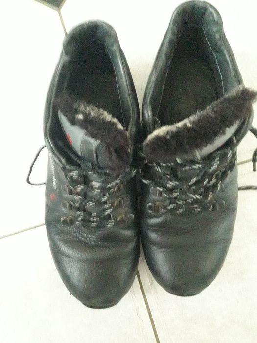 Продам кожаные ботинки с натуральным мехом Сиряки - изображение 1