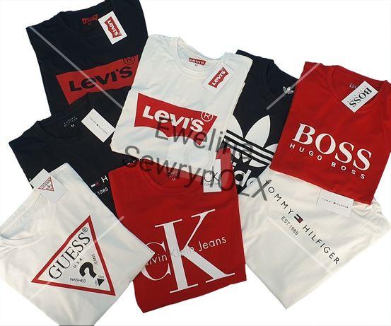 Promocja! Koszulka Adidas Guess Nike Levi's Hugo Boss Armani