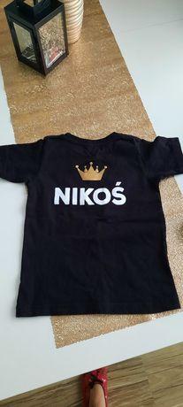 Koszulka 104 NIkos 2 latka