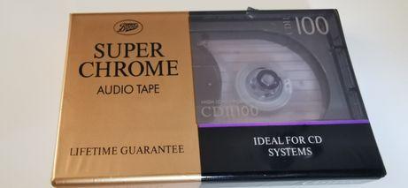 Boots Super Chrome CD II 100 kaseta audio Nowa