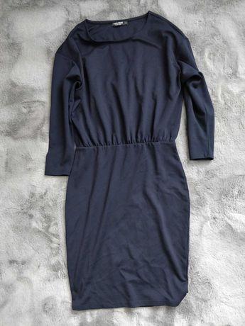 Granatowa sukienka r.S