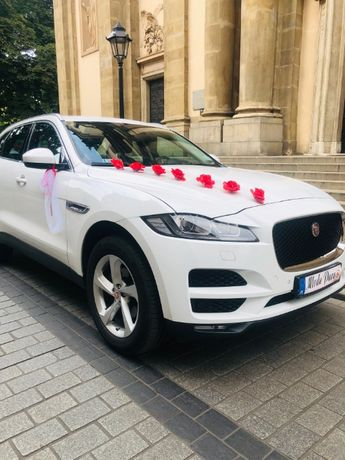 Auto do ślubu Biały Jaguar WOLNE TERMINY 599 zł