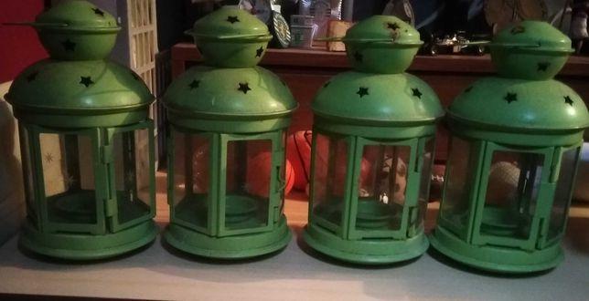 4 Lanternas para velas