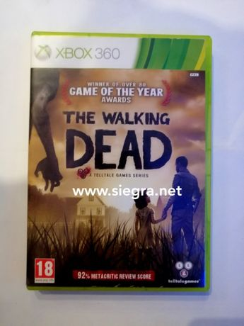 The wlaking Dead Xbox 360