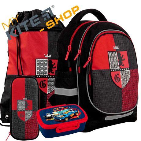 Школьный набор 4в1 КАЙТ KITE Рюкзак сумка пенал для мальчика