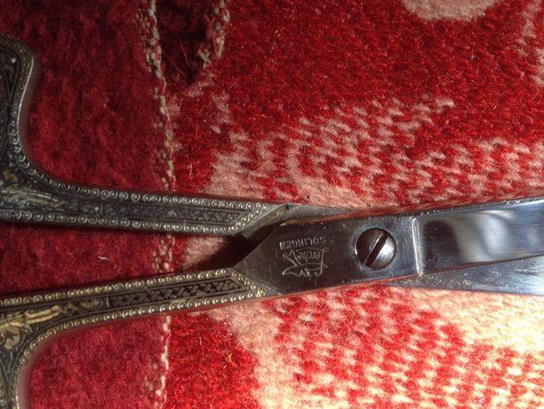 Коллекционные Ножницы Solingen с ручной гравировкой в супер состоянии