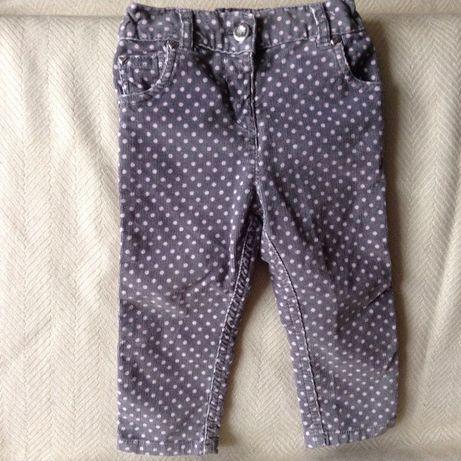 Продам симпатичні вельветові штанці TU на 1-2 роки