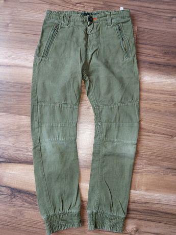 Spodnie joggery shape leg H&M r.128