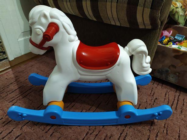 Детская лошадка (конячка) качелька,