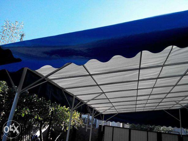 Навес, накрытие двора, ПВХ крыша, покрытие для спорт залов