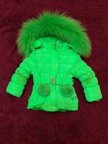 Зимняя курточка на 1-2 годика