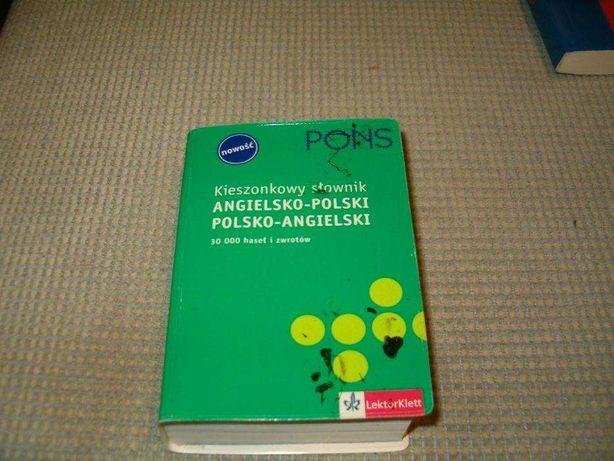 słownik polsko-angielski,angielsko-polski