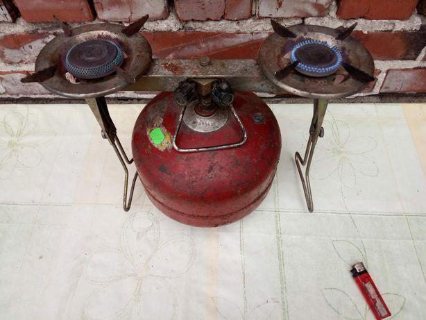 Butla gazowa turystyczna 2kg palnik kuchnia kuchenka płyta gaz grill