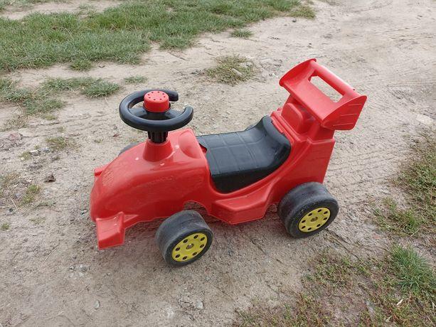 Jeździk wyścigówka