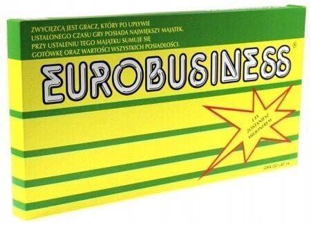 Gra planszowa Eurobusiness Dla całej rodziny eurobiznes