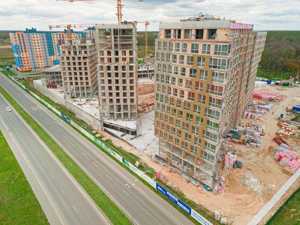 Святошинский р-н, продажа 1-к квартиры 44м2, ЖК Lucky Land, без%
