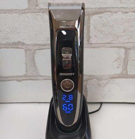 машинка для стрижки волос профессиональная gemei gm-800 аккумуляторная