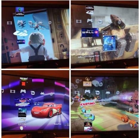 Konsola i 42 gry PlayStation3 ps3 minecraft fifa 19 gta v rayman alice